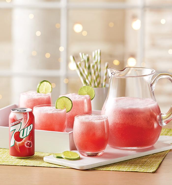7UP Berry Cherry Punch Recipe