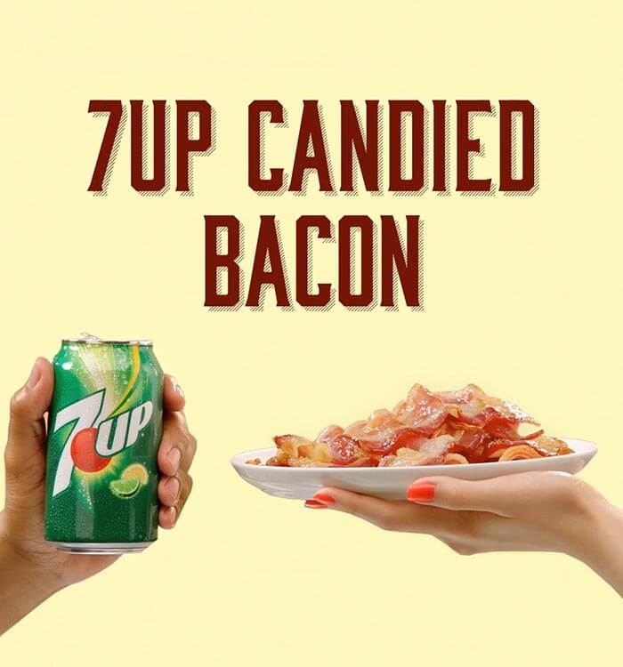 7UP Candied Bacon And Spicy Ketchup Recipe