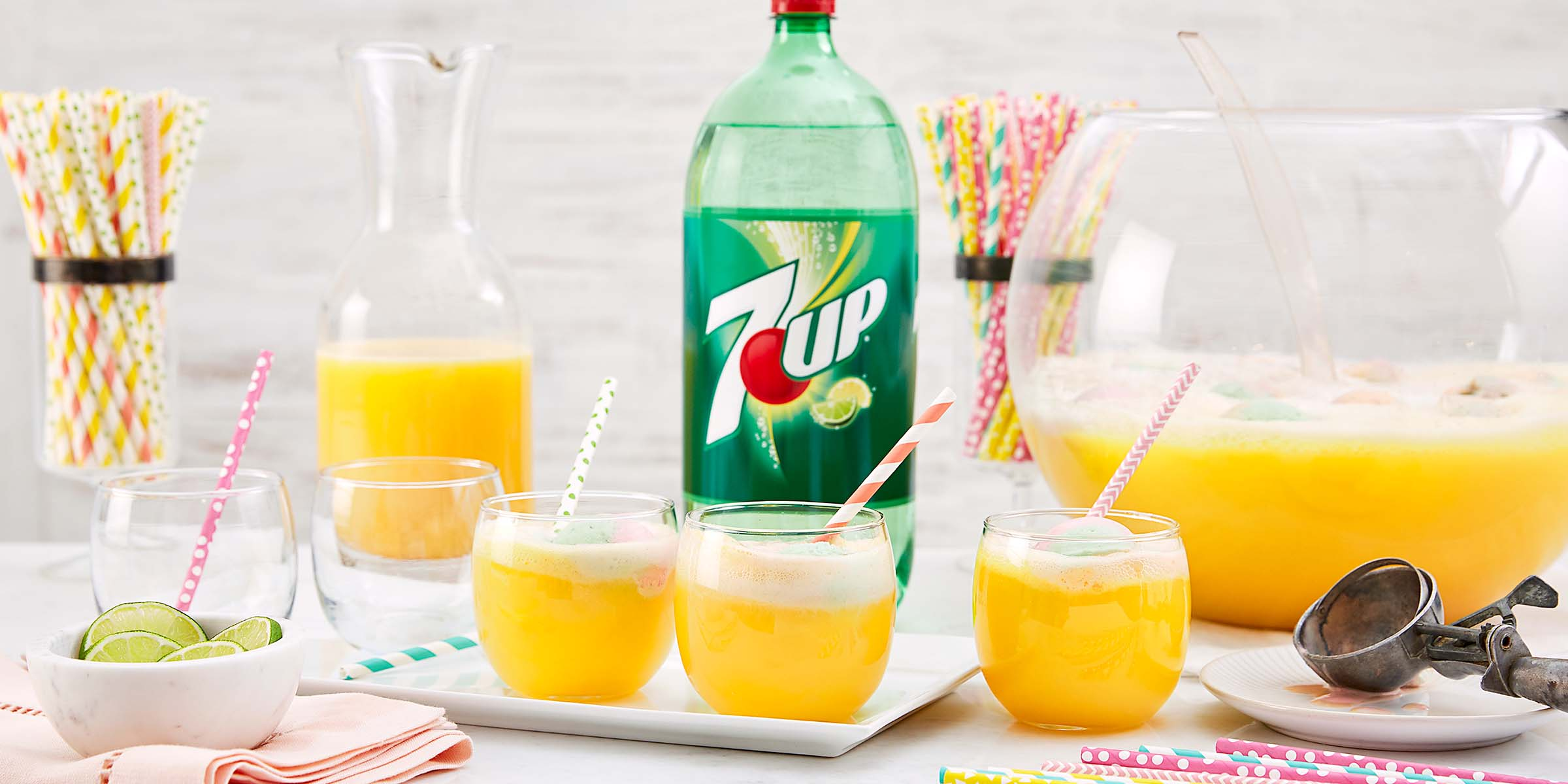 7up sherbet punch 7up for 7 and 7 drink recipe
