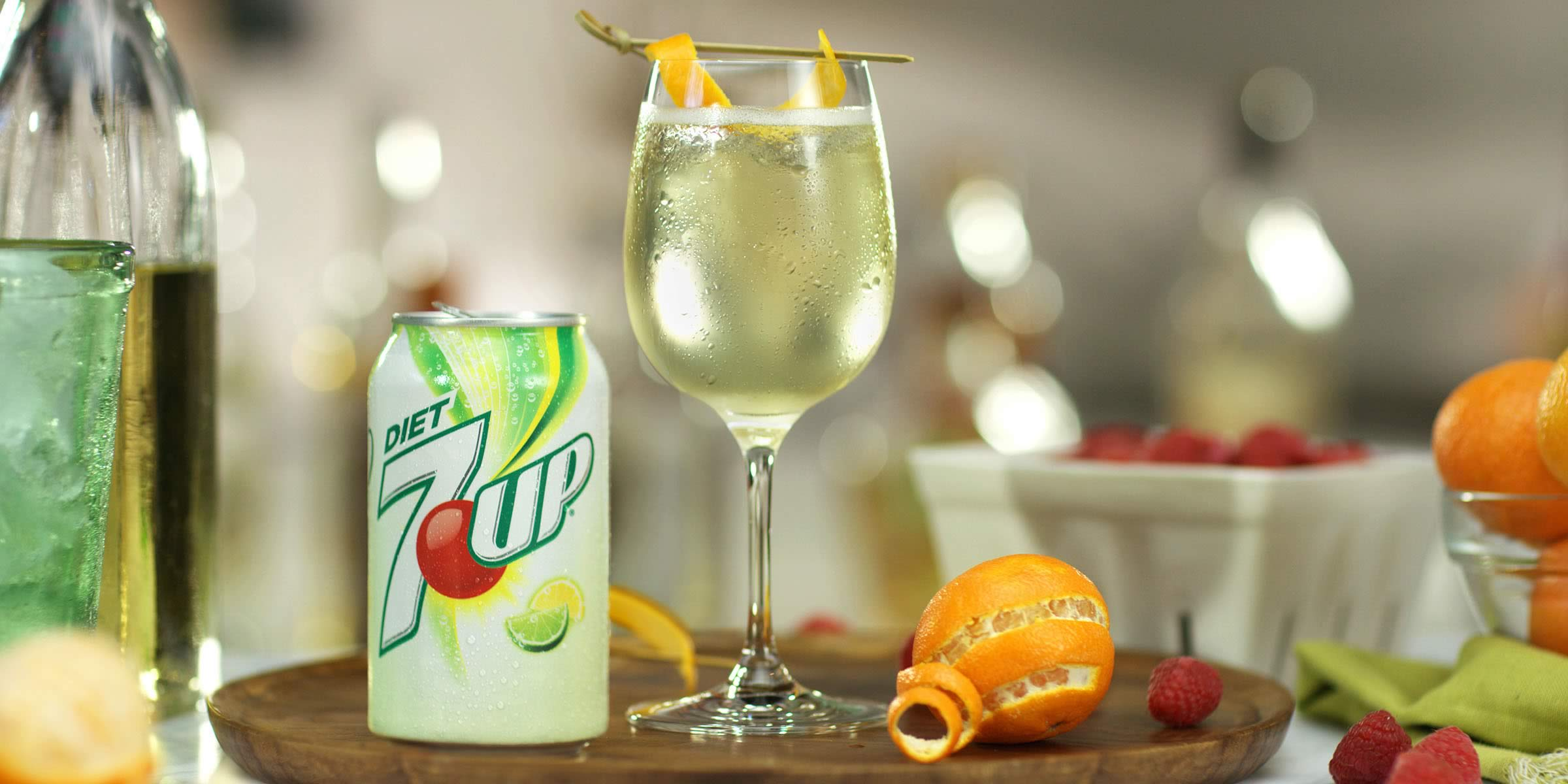 Receta De Vino Blanco Con Soda 7up
